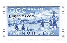 fjellparti ved tuddal frimerke norge