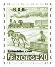 Norges første lokomotiv