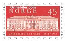 Universitetsbygningen i Oslo