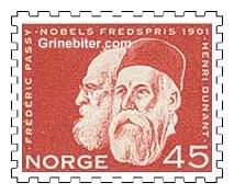 Henri Dunant og Frédéric Passy