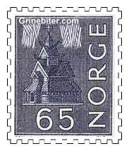 Stavkirke og nordlys