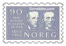 Herman Anker og Olaus Arvesen