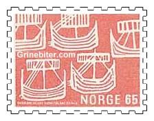 Fem vikingskip