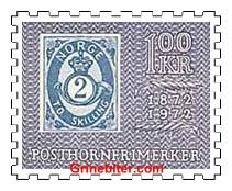2-skillings posthornfrimerke (17)