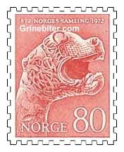 Dyrehodestolpe fra Osebergfunnet
