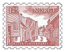 Parti fra gamle Stavanger