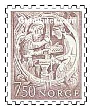 Detalj fra portalen på Hylestad stavkirke
