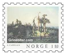 Skogstjern i nedre Telemark