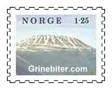 Gaustatoppen i Telemark