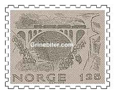 Kylling bru ved Verma i Romsdal