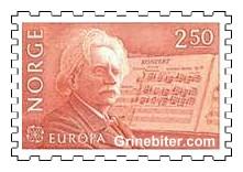 Edvard Grieg med sin A-mollkonsert