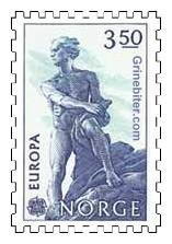 Statue av Niels Henrik Abel